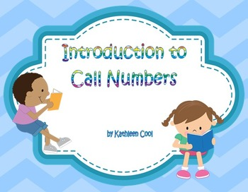 Introduction to Fiction Call Numbers SmartBoard Lesson