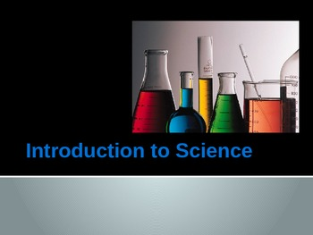 Introduction to science powerpoint