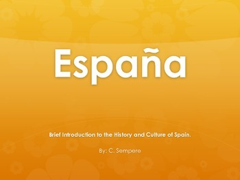 Introduction to the History & Culture of Spain