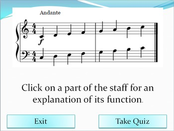 Introduction to the Staff - An Interactive Music Activity