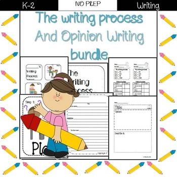 Introduction to the writing process and opinion pieces