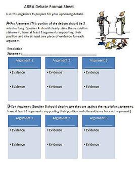 Introductory Debate Unit/Citing Evidence & Persuasive Language