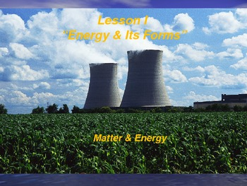 "Introduction to Physics Lesson I PowerPoint ""Energy and It"