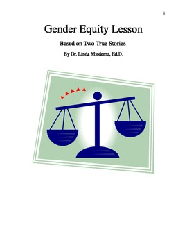 Introductory lesson on gender equity and equal rights