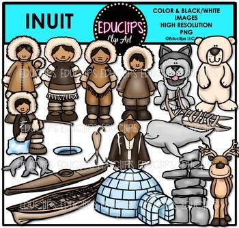 Inuit Clip Art Bundle