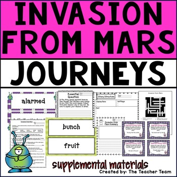 Invasion From Mars Journeys Fourth Grade Supplemental Materials