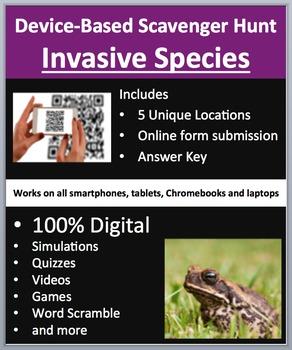 Invasive Species - Device-Based Scavenger Hunt Activity -