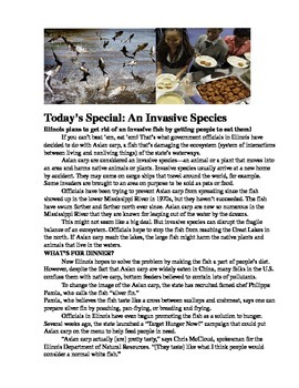 Invasive Species Workshop 7 (Read180 Stage B) Articles