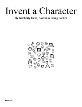 Invent a Character by Kimberly Dana