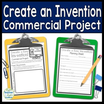Inventions: Create a New Invention - Create an Invention Project
