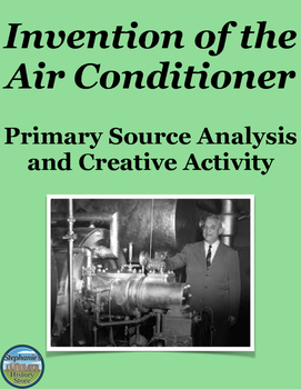Inventions Primary Source Analysis and Creative Writing As