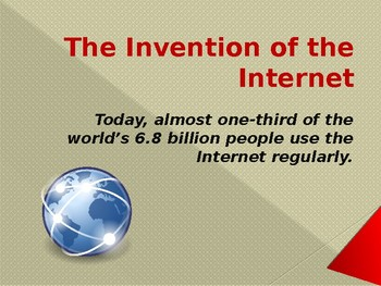 Inventions - The Internet
