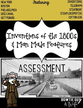 Inventions of the 1800s Assessment Pack (Telegraph, Steamb