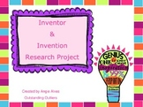Inventor & Invention Research Project