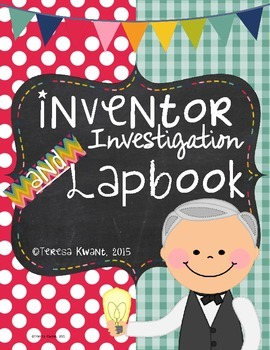 Inventor Lapbook and Booklet