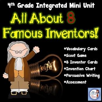 Inventor Mini Unit for 4th grade (aligned to Ohio's New Le