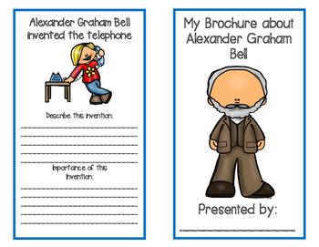 Inventors Brochure {Alexander Graham Bell}