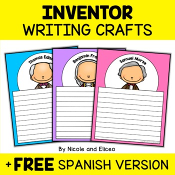 Inventors Writing Craft Activities
