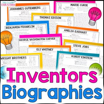 Close Reading Inventors Articles