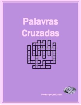 Inverno (Winter in Portuguese) crossword