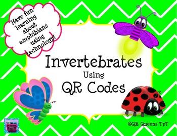 Invertebrates using QR Codes