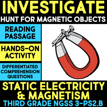 Investigate Magnetic & Non-Magnetic Objects - Science Station