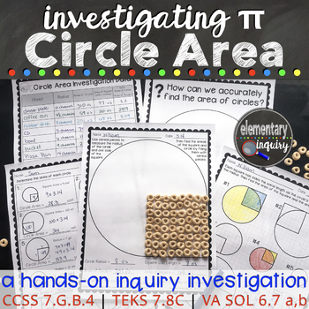 Measuring Circles and Finding Pi: Area and Radius Square I