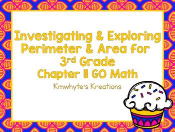 Investigating & Exploring Perimeter & Area for 3rd Grade -