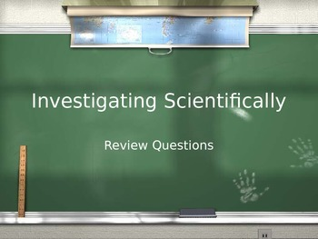 Investigating Scientifically Review