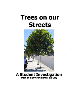 Investigating Trees on our street.