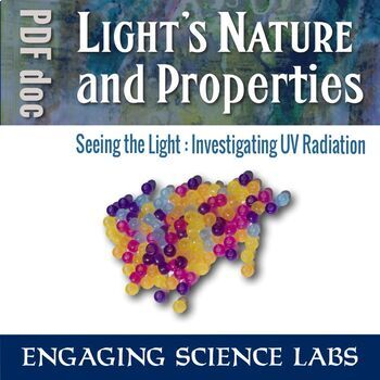 Investigating UV Light—A Science Experiment on Optics for