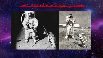 Investigating space technology in the home powerpoint pres