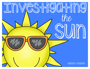Investigating the Sun Unit - Passages, Interactive Journal