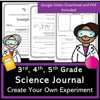 Investigation Journal for 3rd/4th/5th Grade:  Create Your