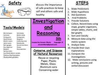 Investigation and Reasoning 5th
