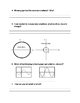 Investigation of Sine and Cosine (Questions Sheet)