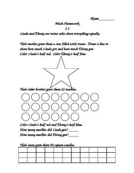Investigations (TERC) Supplemental Materials Unit 7 Grade 2