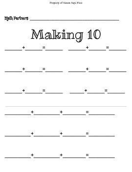 Investigations Unit #6-Making 10