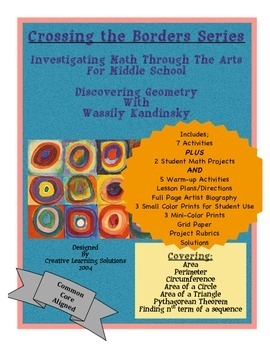 Investingating Math Through the Arts;Geometry for Middle School