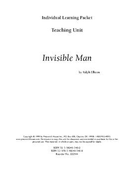 Invisible Man, Ellison,Teaching Unit