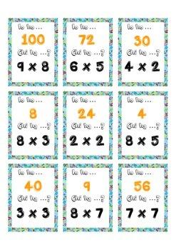 Io ho Chi ha  Multiplication tables