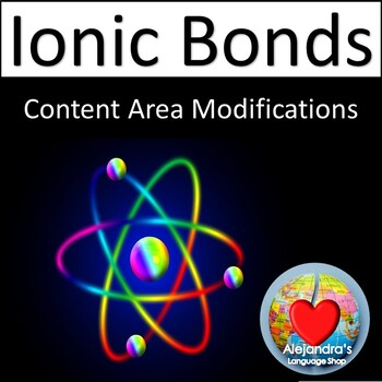 Ionic Bonds for ESL