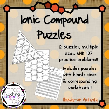 Ionic Compound Puzzles & Practice
