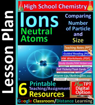 Ions and Neutral Atoms -  Worksheets & Practice Questions