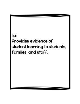 Iowa Teaching Standards Criterion