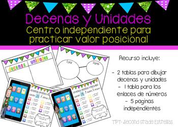 Ipad Decenas y Unidades SPANISH: tens and ones center