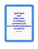 Ipad apps  to Enhance Common Core ELA Reading standards in