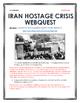 Iran Hostage Crisis - Webquest with Key