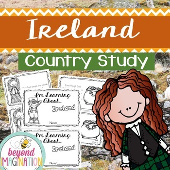 Ireland Country Study | 48 Pages for Differentiated Learni