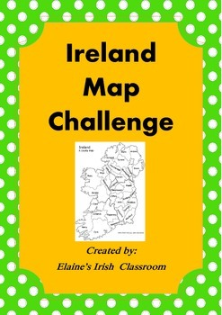 Ireland Map Activity